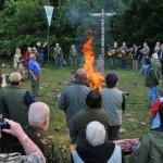 42. výstava KTŘ - slavnostní zapalování ohně