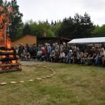 43. výstava KTŘ - slavnostní zapálení ohně